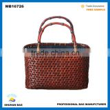 2016 New Design elegant Japanese fashion natural bamboo tote bag, china bamboo bag on alibaba