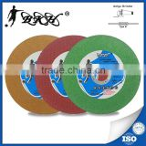 China abrasives manufacturer 4 inch angle grinder cutting disc for stainless steel/inox/alloy steel