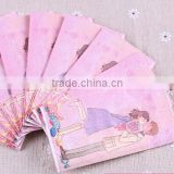 Soft mini facial pocket tissue handkerchief paper
