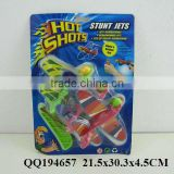 Shooting plane, funny shooting toy, stunt jets