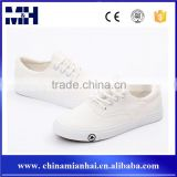 Light weight factory wholesale custom screen printed canvas shoes