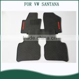 Cargo Trunk Rubber Mat Liner for Car SUV Truck Semi Custom Fit for VW santana