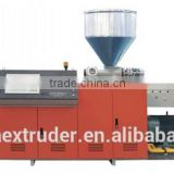 professionally product Conical or Parallel Twin-screw Extruder