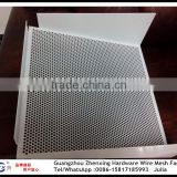 Alibaba supplier directly selling decorative perforated aluminum sheet for exterior wall ZX-CKW39
