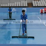 Iron floor cleaning wiper floor squeegee