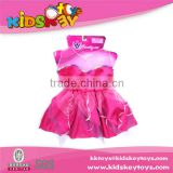 2015 Hot selling baby girl party dress children frocks designs dress up game beauty set toy