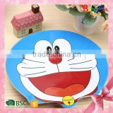 Babypro 2015 Hot Sale Promotion Gift Baby Products Melamine Plate Cheap Melamine Cartoon Melamine Dinner Plate
