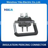 China Earthing Cable Connectors Insulation Earthing Piercing Clamps for Distribution Line , JJCD10