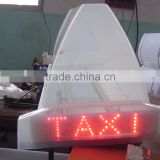 2 Covers Taxi Top Light Box
