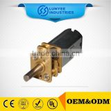 3V 12mm dc gear reduction motor for plastic machine