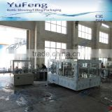 DCGF40-40-12 PLC control PET bottled carbonated beverage filling machine with ring cylinder