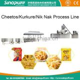 Cheetos Processing Line/Corn Or Rice Puffed Snack Pellets Food Machine