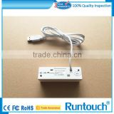 Runtouch RT-M123 White Mobile EMV Chip Card Reader Magnetic Card Reader With Pinpad Keypad ios Android SDK