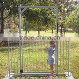 Galvanized steel round pipe / square pipe swimming pool fence