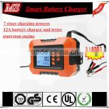 new functional with tester 12v car battery charger on promotion                                                                         Quality Choice