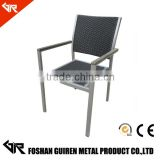 garden rattan chair used bamboo wholesale furniture GR-R12018