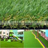 Outdoor fadeless PE & PP plastic grass