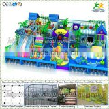 Free design CE & GS standard eco-friendly LLDPE kids indoor playground set