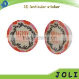 high quality 3d lenticular picture pet lenticular sticker
