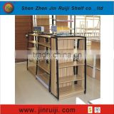 Metal-Wood material Display suitable sport equipments supermarkets shop fittings for retail fashion