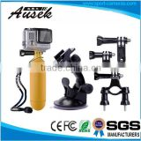 Outdoor sport Bundle Combo Kit Accessories For wifi sj5000 Camera - Suction Cup Mount Handlebar Seatpost Floating Grip Tripod