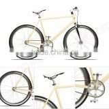 wholesale 700C steel frame carbon fixie single speed fixed gear bike fixie bicycle