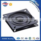Hot sale lazy susan turntable bearings for glass turntable table square type