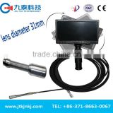 Proferssional 60/120m waterproof pipe inspection camera / water pipe inspection camera with DVR