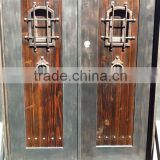 main entrance double wrought iron doors used wrought iron door gates