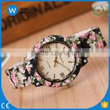 GW022 All Season Style Printing Resin Fashion Quartz Watch Women Geneva Watches Casual Flower Geneva Brand Watches Dress Clock