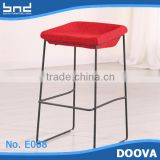 Cheap bar chair iron legs stool