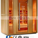4 person home use luxury whole body use far infrared sauna half body