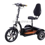 electric mobility scooter with reverse gear /48v 500w three wheel electric scooter/motor scooter trike