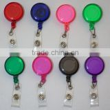 Retractable Reel ID Badge Key Card Name Tag Holders with Belt Clip