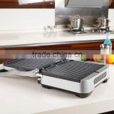 Non-stick Electric Stainless Steel Panini Press Sandwich Maker
