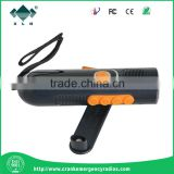 Multifunction Emergency Crank Dynamo Flashlight with Digital FM/Am Radio & for Mobile Charger