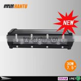 "Whole sale mini 8"" 30W led light bar single row off road LED lights Driving Lights for Jeep Cabin Boat SUV Truck Vehicles Atvs"
