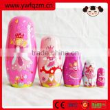 wholesale beauty design 2016 new wooden russian doll