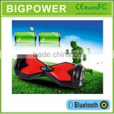 self balancing scooterwth bluetooth speaker and LED lightpressure control valve