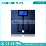 Bathroom scale digital with high precision strain gauge