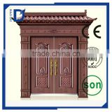 New Style Hot Main entrance Designs Double door Wrought Iron Entry and Wrought Iron Double Entry Doors