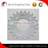 HIGH QUALITY fine blanking vietnam scooter chain rear sprocket 428H/110L-37T/15T motorcycle chain and sprocket