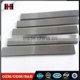 Cheap china WC cobalt high wear precision zhuzhou tungsten carbide wear strip cemented carbide strips