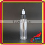 60ml twist cap bottle with pet bottle raw material with child proof medicine containers