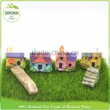 OEM/ODM Good Quality Children Game Fashion and Cute DIY Beauty Kids' doll kit toy European mini resin cottage dolls house