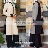 OEM service China factory custom made arabic basic indonesia muslim tunic