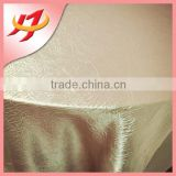 Factory Price Beautiful Wedding Satin Table Cloth / Hotel Table cloth / Polyester Table Cloth