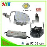 DLC CE rohs led canopy light retrofit kit light 130lm/w for gas station led petrol lighting