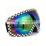 Adult Skiing goggles Skating glasses ski Googles Anti-fog Clear Lens Mirrored lenses eyewear riding glasses