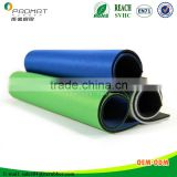 Heated print style high elastic rubber sheet stable quality/rubber mat Dongguan supplier